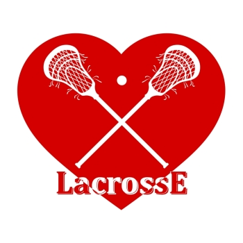 43a0bce966c Image Details ING_19020_01993 - Crossed lacrosse stick, ball and red heart. Vector  illustration