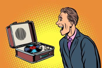 You searched for retro vinyl record player  pop art