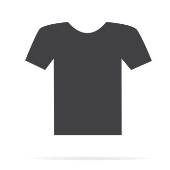 tshirt icon set flat set of tshirt vector icons for web design isolated on white background tshirt icon set cheap royalty free subscription stock photos vector illustrations fonts white background tshirt icon set