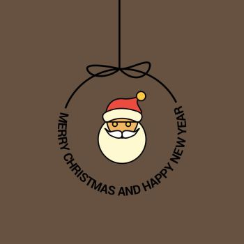 Merry Christmas Beautiful Card Background