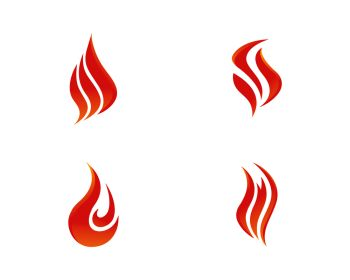 You searched for fire flame logo template vector icon oil