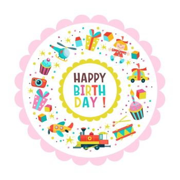 You Searched For Happy Birthday Card With Cake And Gifts