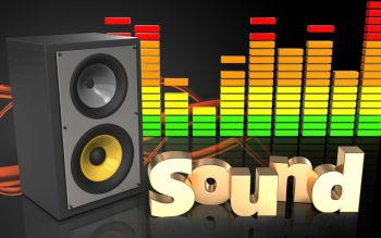 You searched for 3d illustration of sound system over black