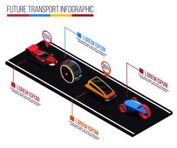 You searched for future transport isometric infographic