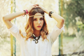 09ba6d66707 47. 0. Loading... Searching fashion portrait of beautiful hippie young  woman wearing boho chic clothes ...
