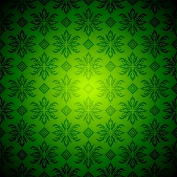 Green and yellow seamless wallpaper design with no join
