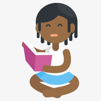 You Searched For Unhappy African Little Girl Reading Book