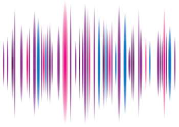 Abstract music equaliser background with flowing peaks pattern