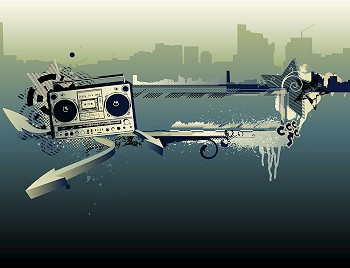 Grunge Camera Vector : You searched for vector illustration of urban music grunge frame