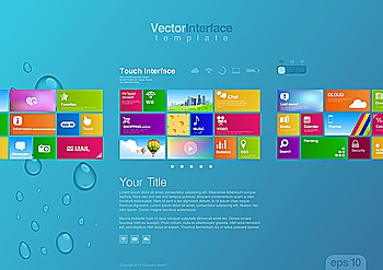 You searched for website design template vector  tablet pc