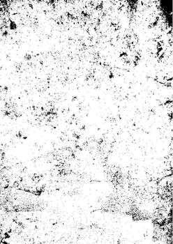Black and white mono background with a worn grunge texture effect