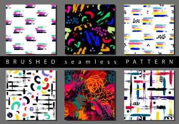 You searched for circle seamless pattern  brush strokes