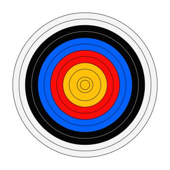 you searched for target template for shooting with scores bullseye