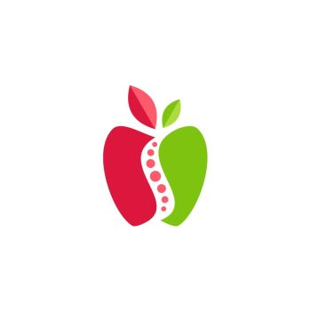 You Searched For Apple Fruit Nutrition Logo Symbol Icon Vector Design