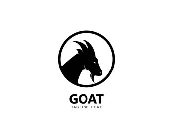 You searched for goat logo template vector icon illustration