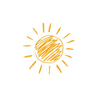 You searched for hand drawn vector illustration of sun icon