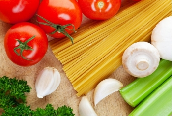 Some of the ingredients needed for cooking Italian food