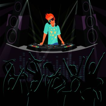 You searched for dj dance party background light show and