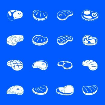 You searched for bbq food icons set  simple illustration of