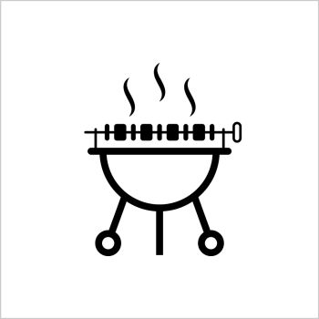 You searched for bbq grill with fire icon in monochrome
