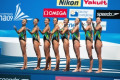 13th FINA World Championship Roma 09 Russia National Team  RUS   JULY 18  2009 - Synchronised Swimming : Synchronised Swimming Team Technical Final during 13th FINA World Championship Roma 09 at the Stadio del Nuoto Sincronizzato in Rome  Italy.  Photo by Enrico Calderoni/AFLO SPORT   0391