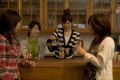 A group of women having coffee