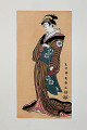 Toshusai Sharaku  Japanese Wood Block Print