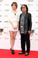 Classic Rock Awards 2016 in Tokyo  L to R  Japanese violinist Ayasa and Seisoku Ito pose for the cameras during the red carpet at the Classic Rock Awards 2016 at the Ryougoku Kokugikan Stadium on November 11  2016  Tokyo  Japan. Other rock icons in attendance were Joe Perry  Johnny Depp  Jeff Beck  Def Leppard rsquo;s Joe Elliott and Phil Collen  Megadeth rsquo;s Dave Mustaine  Cheap Trick  Richie Sambora and Orianthi. The award  which started in 2005  is held for the first time in Japan.  Photo by Rodrigo Reyes Marin/AFLO