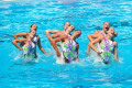 13th FINA World Championship Roma 09 Italy National Team  ITA   JULY 18  2009 - Synchronised Swimming : Synchronised Swimming Team Technical Final during 13th FINA World Championship Roma 09 at the Stadio del Nuoto Sincronizzato in Rome  Italy.  Photo by Enrico Calderoni/AFLO SPORT   0391