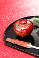 New Year Table Setting With Lacquer-Ware Bowl