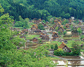 Shirakawa-go  Gifu Prefecture  Japan