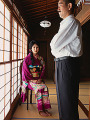 Traditional Japanese couple