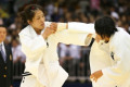 All Japan Selected Judo Championships 2012  L to R  Haruka Tachimoto  JPN   Karen Nun-ira  JPN    May 12  2012 - Judo :  All Japan Selected Judo Championships  Women rsquo;s -70kg class Final  at Fukuoka Convention Center  Fukuoka  Japan.   Photo by Daiju Kitamura/AFLO SPORT   1045