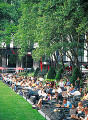 Lunch Time At Bryant Park  Ny