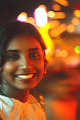 Portrait of young Indian woman  smiling