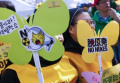 Anti-nuclear pro-solar energy rally in Seoul on anniverasry of 2011 Fukushima nuclear disaster The sixth anniversary of the 2011 Fukushima nuclear disaster  Mar 11  2017 : Nuns attend a memorial rally marking the sixth anniversary of the 2011 Fukushima nuclear disaster in Seoul  South Korea. The March 11  2011 earthquake and tsunami killed more than 18 000 people in Japan. Participants demanded the government to stop nuclear project and establish more solar energy generation during a rally which was held also as a part of mass rally held to celebrate after the Constitutional Court on Friday upheld the impeachment of President Park Geun-hye.  Photo by Lee Jae-Won/AFLO   SOUTH KOREA
