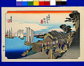 Utagawa Hiroshige  The Fifty-three Stations of the Tokaido  Shinagawa