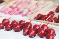 Traditional sweets at Japanese festival