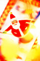 Close-Up Of A Santa Clause Ornament