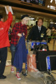 Agyness Deyn  April 10  2008 : Top model Agyness Deyn arrives at Narita Airport in Japan.  Photo by Mikey/AFLO   1135