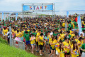 Japan Water Run in Japan July 23  2016  Chiba  Japan - Japanese youths enjoy battle with water guns at the Water Run at a beach in Chiba  suburb Tokyo on Saturday  July 23  2016. Some 10 000 people enjoyed the the two-day event with water guns and a total of 300 000 water balloons.      Photo by Yoshio Tsunoda/AFLO  LWX -ytd-