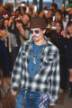 Johnny Depp  January 08  2008 : Actor Johnny Depp arrives at Narita International Airport  Japan  to promote his movie  Sweeney Todd: The Demon Barber of Fleet Street   Film opens January 19 in Japan.  Photo by Akihiro Sugimoto/AFLO   1080
