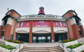 March 12 2020 MLB Tempe Arizona United States The exterior of Tempe Diablo Stadium is seen following the cancellation of spring training Major