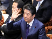 Prime Minister Shinzo Abe attends Lower House s budget committee session February 5 2020 Tokyo Japan  Japanese Prime Minister Shinzo Abe rai