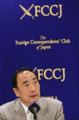 Yasunori and Junko Kagoike speaks at FCCJ Yasunori Kagoike former head of Moritomo Gakuen speaks during a news conference at The Foreign Correspondent