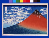South Wind Clear Sky Also Known As Red Fuji  Thirty Six Views Of Mt Fuji Hokusai
