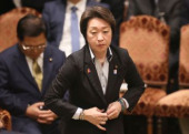 Upper House s budget committee passed a budget bill for the fiscal 2020 year March 27 2020 Tokyo Japan  Japanese Olympic Ministder Seiko Has