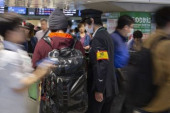 Travelers return to Tokyo after 10 day Golden Week holiday May 5 2019 Tokyo Japan  Travelers returning to Tokyo after 10 day Golden Week holiday a